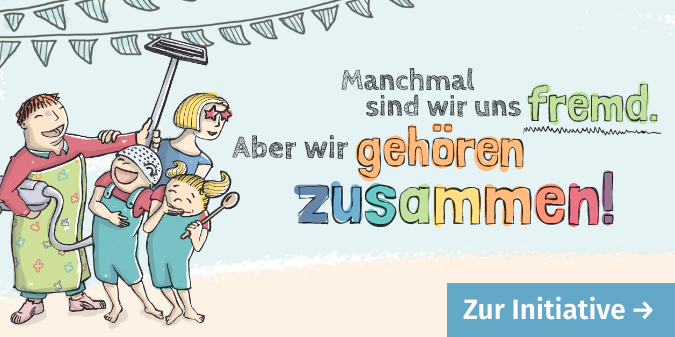 Zur Initiative Familien feiern Demokratie